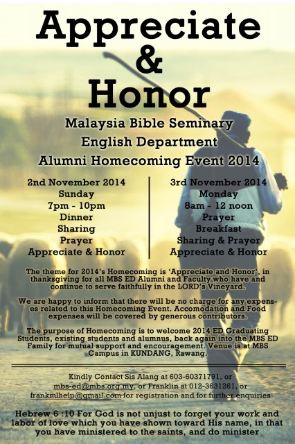 Homecoming Event 2014