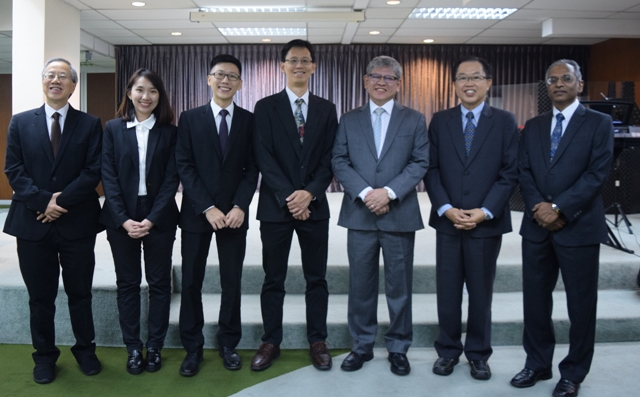 Rev Dr Tony Lim and his pastoral team